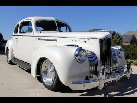 1941 Packard 120 Street Rod For Sale Youtube