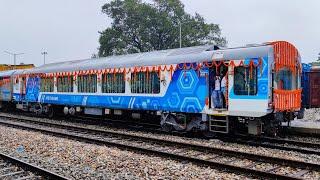 New Jalpaiguri to Alipurduar by Tourist Special   Vistadome coach   Journey coverage post lockdown