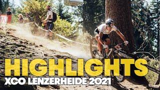 Race Highlights from Lenzerheide | UCI Cross-Country MTB World Cup 2021