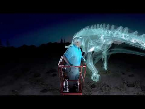 360° meet the largest dinosaur ever...