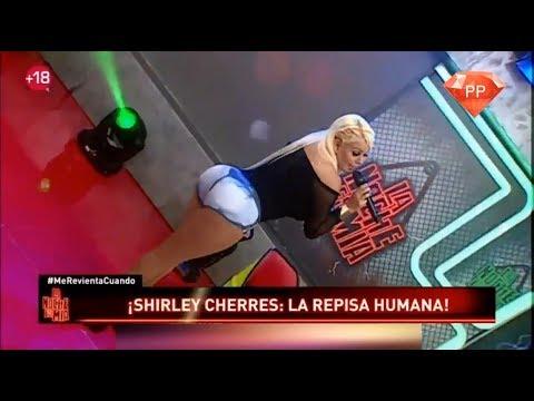 Shirley Cherres en Short Jeans LNEM