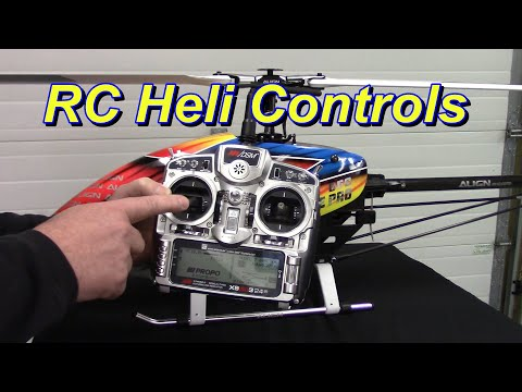 RC Helicopter Controls