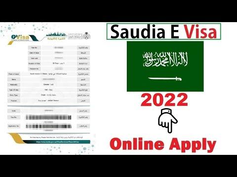 Saudia Visa Online Apply 2020 - Saudia Ka Visa Online Apply Kary