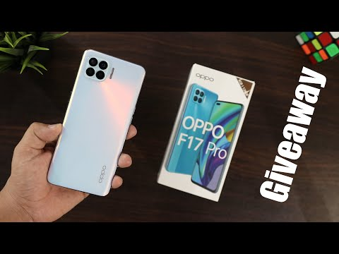 OPPO F17 Pro Unboxing & Giveaway I Sleekest Phone of 2020 !