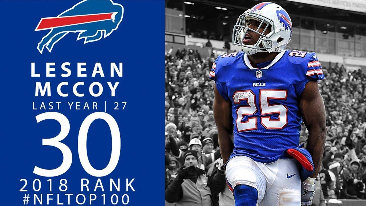 #30: LeSean McCoy (RB, Bills) | Top 100 Players of 2018 | NFL