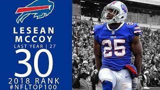 #30: LeSean McCoy (RB, Bills) | Top 100 Players of 2018 | NFL
