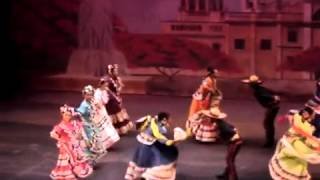 Mexican traditional dance Jarabe Tapatio / Baile tradicional