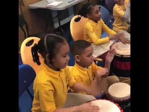 Cumbe in the classroom - Brighter Choice Community School
