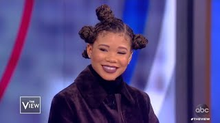 Storm Reid Shares Story of Meeting Beyoncé and New Film 'The Invisible Man' | The View