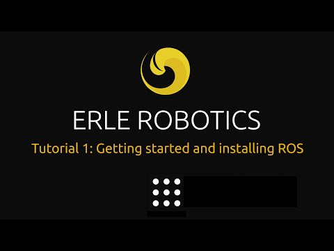 Getting started and installing ROS by Erle Robotics on YouTube