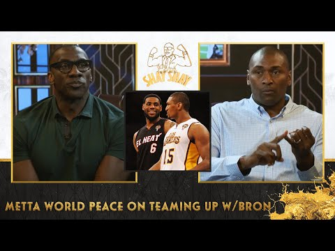 Metta told LeBron NO Before Teaming Up With Kobe   EP. 31   CLUB SHAY SHAY S2