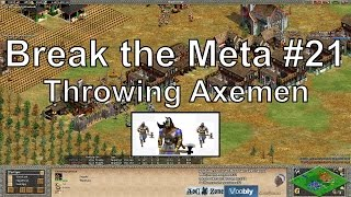 "Aoe2 ""Break the Meta"" #21: Mass Throwing Axemen"
