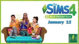 The Sims 4 Movie Hangout Stuff (ROMANA/HD)