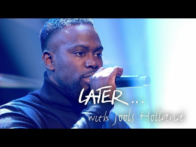 Ghetts performs grime anthem Preach on Later... with Jools Holland