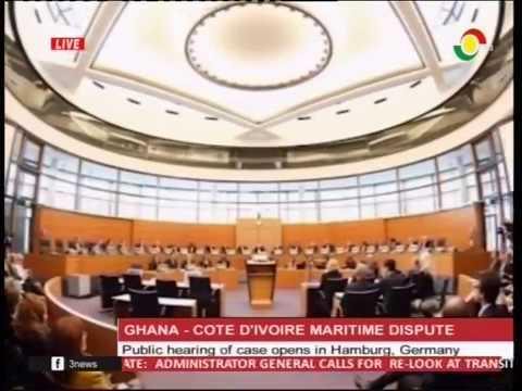 Public hearing on Ghana Cote D'iviore maritime dispute opens in Hamburg - 6/2/2017