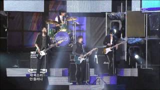 CNBLUE - Love (remix), 씨엔블루 - 러브 (리믹스), Music Core 20100904
