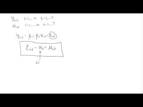 Error component model