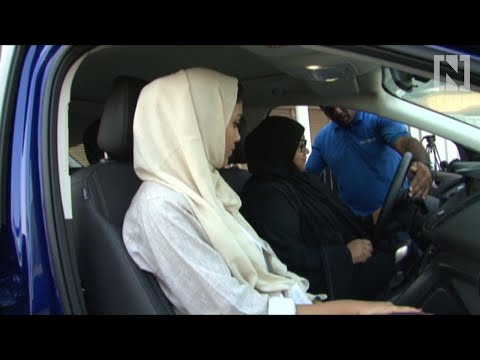 Saudi women take driving lessons in Jeddah