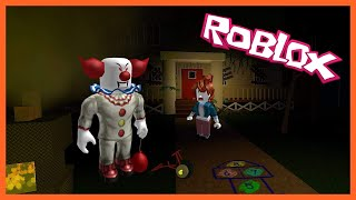 STUCK IN THE ELEVATOR OF HORROR WITH A SCARY CLOWN! Roblox!