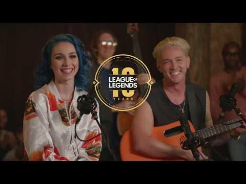 Jaira Burns & Telle Smith - POP/STARS - RISE Mashup (League Of Legends 10th Anniversary)