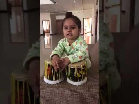 Waheguru Ji   Punjabi Kid Playing Tabla - Waheguru Simran Kirtan.