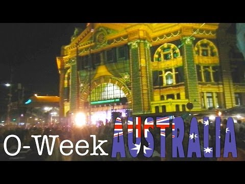 O-Week at La Trobe University [AUSTRALIA episode 4]