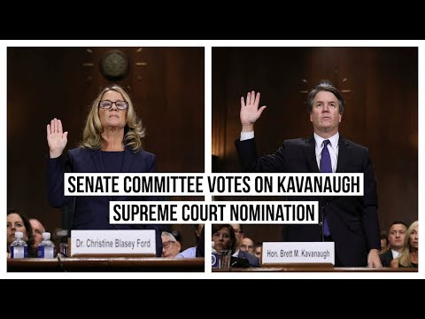 LIVE: Senate Committee Votes on Brett Kavanaugh Supreme Court Nomination