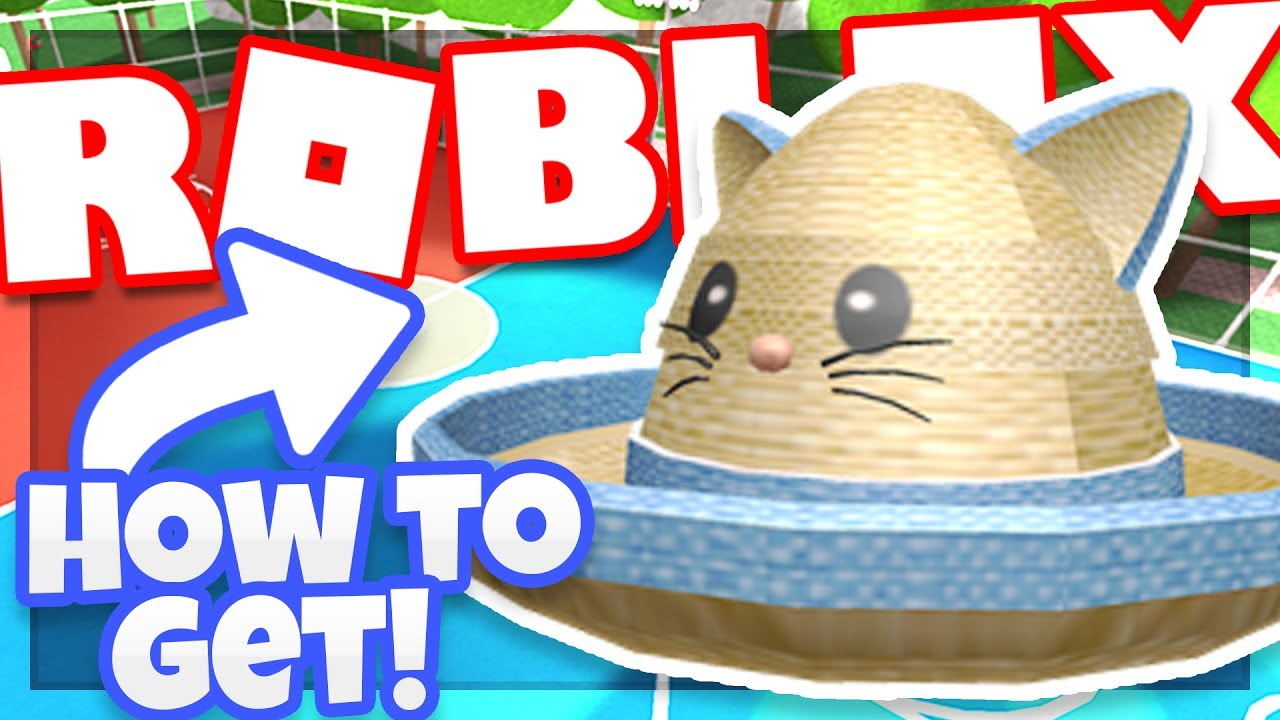 Event How To Get The Kitty Cat Straw Hat Roblox Dodgeball Youtube
