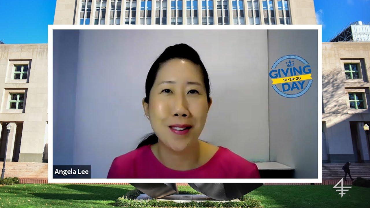 Columbia Giving Day 2020: Professor Angela Lee