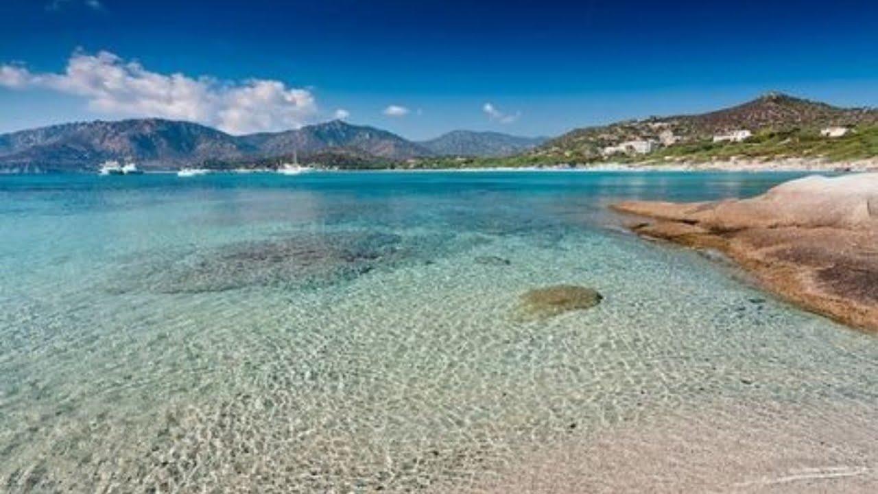 Sardegna Spiaggia di Campulongu  Villasimius 4k