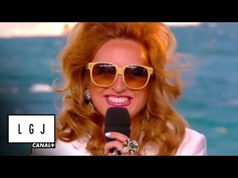 Jacquie de Monte Carlo avec Paris Hilton - La Météo du Grand Journal de Cannes