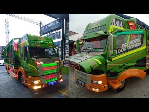 Beginilah Proses Awal Modifikasi Truk Canter Scania Hijau Nya J0SSS |  Dieng Truck Lovers