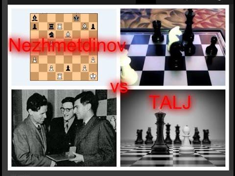 TALJ o svojoj partiji i analiza - NEZHMETDINOV vs TALJ - Francuska odbrana # 712