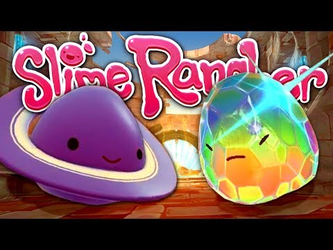 ANCIENT PORTAL TO THE GLASS DESERT - New Map, Slimes and Story! - Slime Rancher Update Gameplay #24