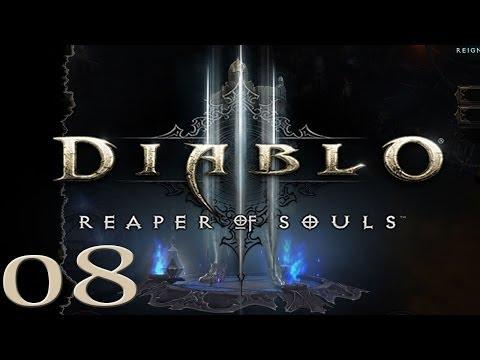 Diablo 3 Reaper of Souls - Crusader - Act 1-8 - Cain