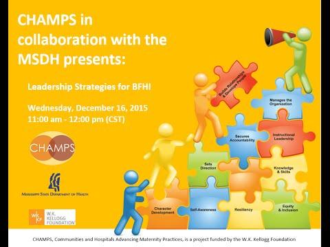 Leadership Strategies for BFHI
