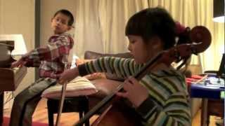 ABRSM Cello 2011-2012 Grade 4  Minuet in G, Beethoven