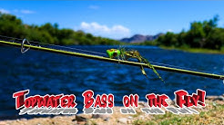 Fly Fishing the Salt River for Bass! (Subscriber's flies)