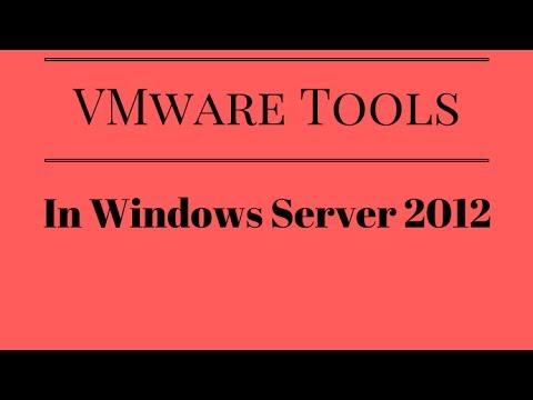 install vmware tools server 2012 r2 core