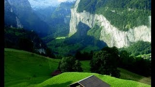 Экологически чистая Швейцария, вид летом.(Ecologically clean Switzerland)