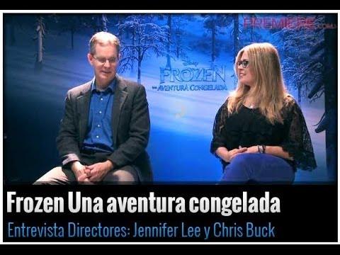 Los directores Jennifer Lee y Chris Buck hablan sobre Frozen Una aventura congelada Mp3