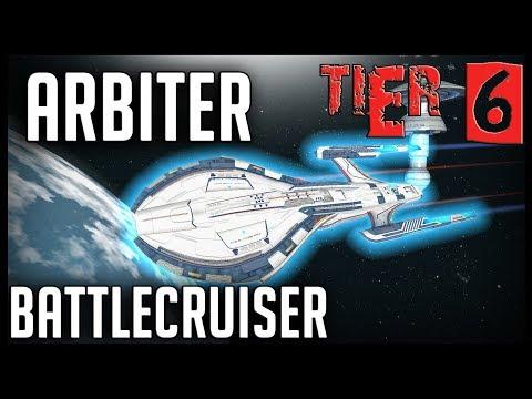 Arbiter Battlecruiser [T6] – with all ship visuals – Star Trek Online