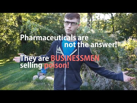 Proof Pharmaceuticals Are A SCAM For Depression & Cancer.