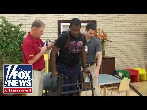 SoldierStrong helps paralyzed Navy veteran walk again