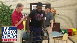 SoldierStrong helps paralyzed Navy veteran walk again