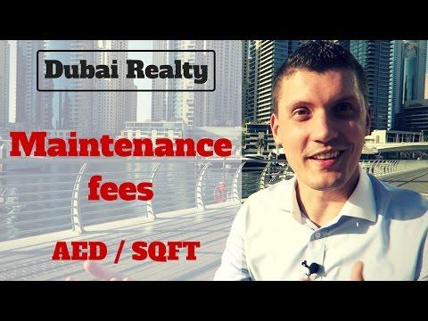 Dubai Real Estate: Maintenance Fees.