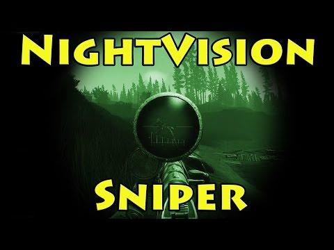 Nightvision Sniper OP!! - Escape from Tarkov
