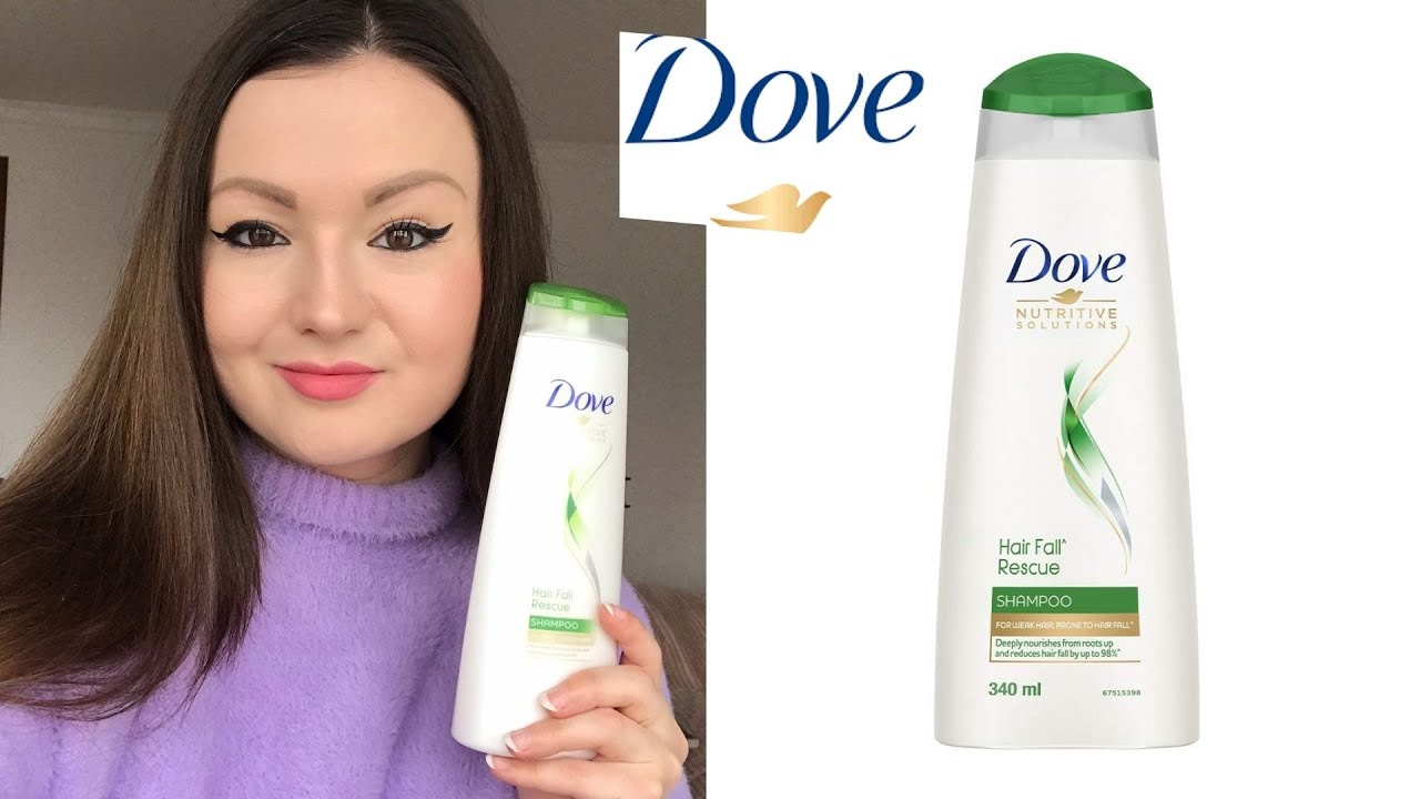 Dove Hair Fall Rescue Shampoo   Review 🌿   YouTube