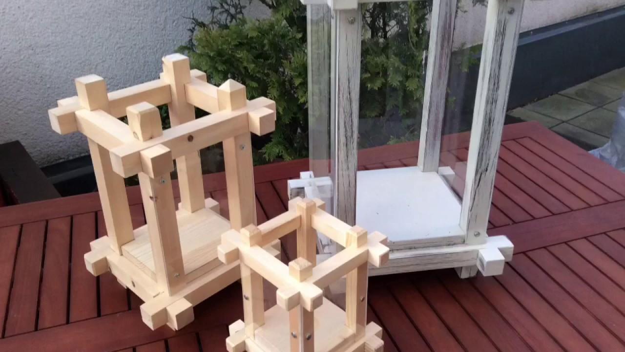 Gartenlaterne Zum Selbst Bauen Youtube