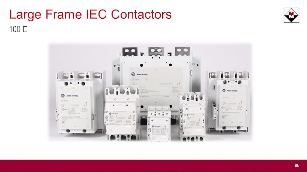 100-E Large Frame Contactor